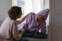 two friends with disability